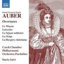 Details zu Auber, Daniel-Francois: Overtures: Czech Chamber Philharmonic Orchestra, Dario Salvi