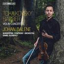 Details zu Tschaikowsky / Barber: Violin Concertos: Johan Dalene, Norrköping Symphony Orchestra, Daniel Blendulf