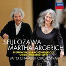 Details zu Beethoven/Grieg: Klavierkonzert Nr.2, Holberg Suite: Martha Argerich, Mito Chamber Orchestra, Seiji Ozawa