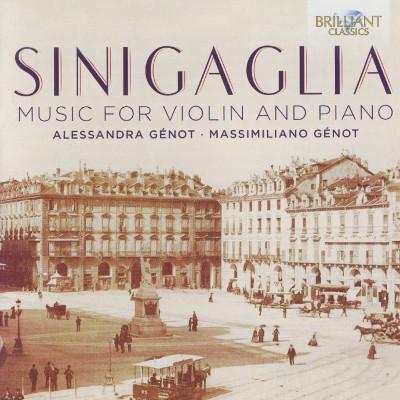 Details zu Sinigaglia. Leone: Werke für Violine und Klavier