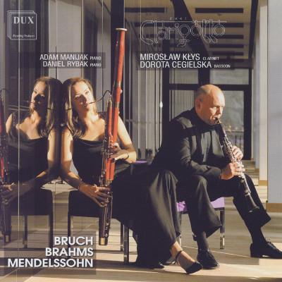 Details zu Duet Clarigotto spielt: Bläsertranskriptionen von Brahms, Mendelssohn & Bruch