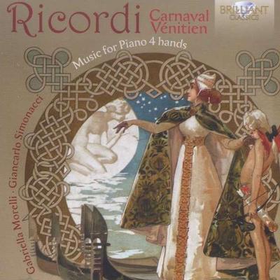 Details zu Ricordi, Giulio: Musik für Klavier vierhändig