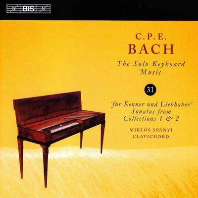 Details zu Bach, Carl Philipp Emanuel: Klavierwerke Vol. 31