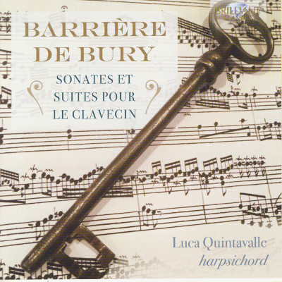 Details zu Barrière & De Bury: Cembalosonaten