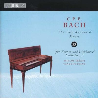 Details zu Bach, Carl Philipp Emanuel: Klavierwerke Vol. 33