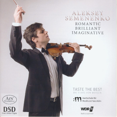 Details zu Romantic - Brilliant - Imaginative: Violinwerke von Grieg, Castelnuovo-Tedesco, Schubert u.a.