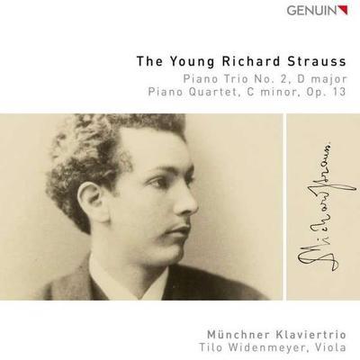 Details zu The Young Richard Strauss: Klaviertrio Nr. 2 und Klavierquartett c-Moll