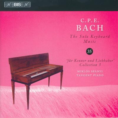 Details zu Bach, Carl Philipp Emmanuel: Sämtliche Werke für Tasteninstrumente Vol. 35