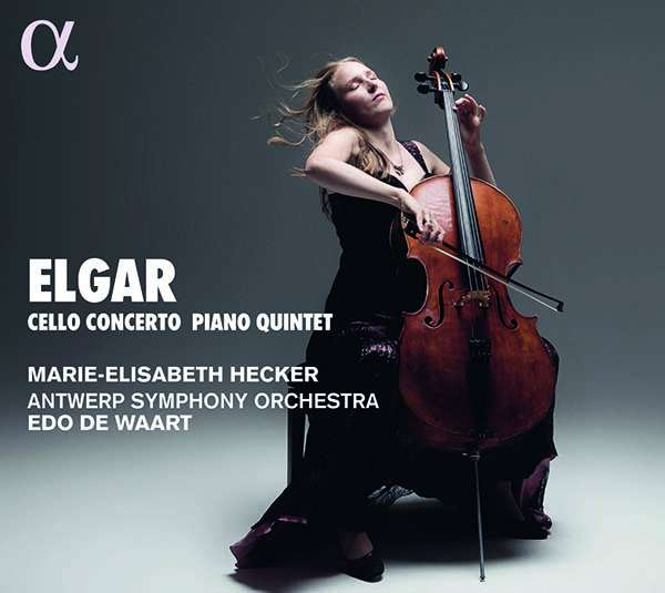 Details zu Elgar, Edward: Cellokonzert / Klavierquintett: Marie-Elisabeth Hecker, Antwerp Symphony Orchestra, Edo de Waart