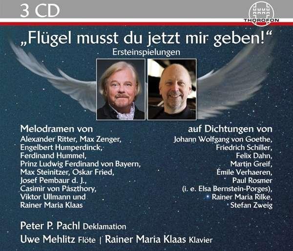 Details zu Flügel musst du jetzt mir geben!: Melodramen für Deklamation, Flöte & Klavier