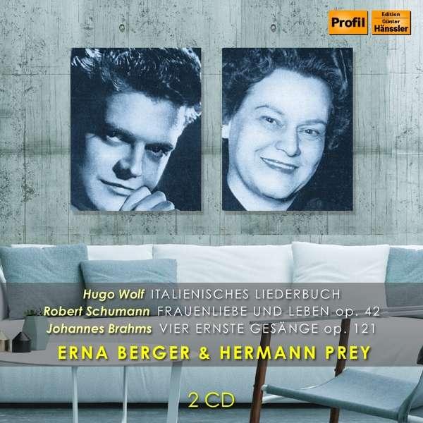 Details zu Erna Berger & Hermann Prey: Werke von Wolf, Schumann, Brahms, Grieg, Loewe