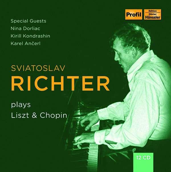 Details zu Sviatoslav Richter plays Liszt & Chopin: Sviatoslav Richter, Klavier