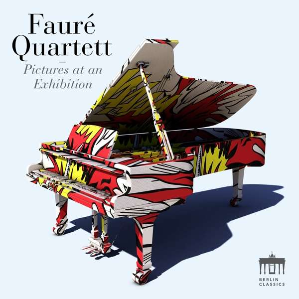 Details zu Rachmaninoff, Sergej/Mussorgsky Modest: Bilder einer Ausstellung: Fauré Quartett