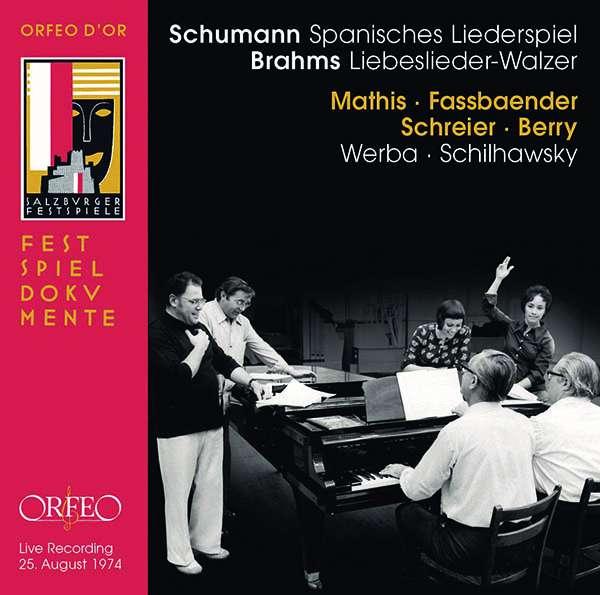 Details zu Schumann, Robert: Spanisches Liederspiel: Edith Mathis, Brigitte Fassbaender, Peter Schreier, Walter Berry, Paul Schilhawsky, Erik Werba