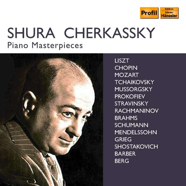 Details zu Piano Masterpieces: Shura Cherkassky, Berliner Philharmoniker, Philharmonia Orchestra, London Philharmonic Orchestra