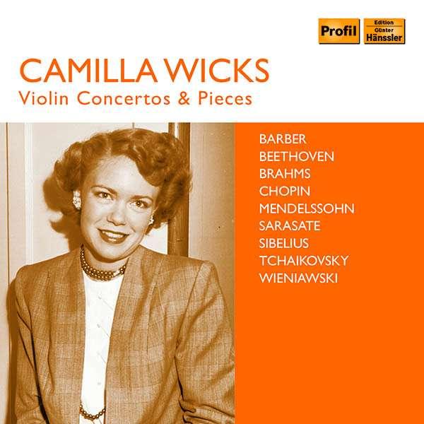 Details zu Wicks, Camilla: Violin Concertos & Pieces: Robert Levin, Michelle Cooker, Horace Martinez