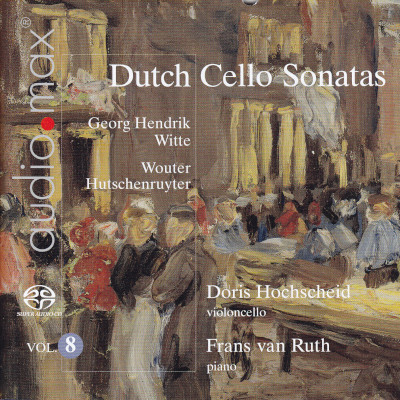 Details zu Dutch Sonatas for Violoncello and Piano Vol.8: Doris Hochscheid, Frans van Ruth