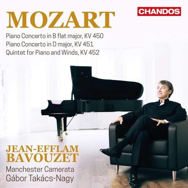 Details zu Mozart, Wolfgang Amadeus: Piano Concertos KV 450, KV 451: Jean-Efflam Bavouzet, Manchester Camerata, Gabor Takacs-Nagy