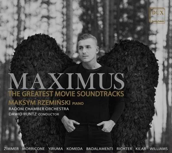 Details zu MAXIMUS - Greatest Movie Soundtracks: Maksym Rzeminski, Radomska Orkiestra Kameralina, Dawid Runtz