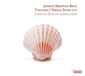 Details zu Bach, Johann Sebastian: Toccatas, French Suites IV-VI: Lorenzo Ghielmi, Cembalo