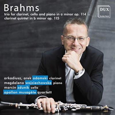 Details zu Brahms, Johannes: Kammermusik mit Klarinette: Arek Arkadiusz, Apollon Quartett