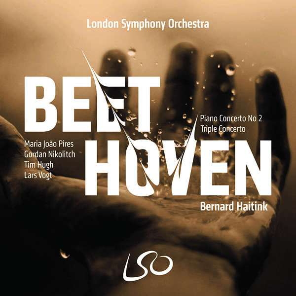 Details zu Beethoven, Ludwig van: Triple Concerto, Piano Concerto No.2: Lars Vogt, Maria Joao Pires, Tim Hugh, London Symphony Orchestra, Bernard Haitink