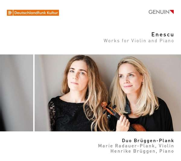 Details zu Enescu: Works for Violin and Piano: Duo Brüggen-Plank