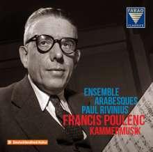 Details zu Francis Poulenc Kammermusik: Ensemble arabesques, Paul Rivinius
