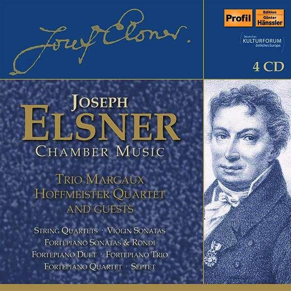 Details zu Elsner, Joseph: Kammermusik: Violin-Sonaten, Septett, Klaviertrio, Klavierquartett, Streichquartette, Klaviersonaten