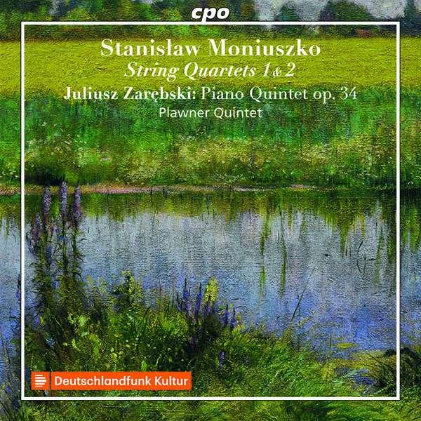 Details zu Moniuszko, Stanislaw: String Quartets 1 & 2: Plawner Quintet