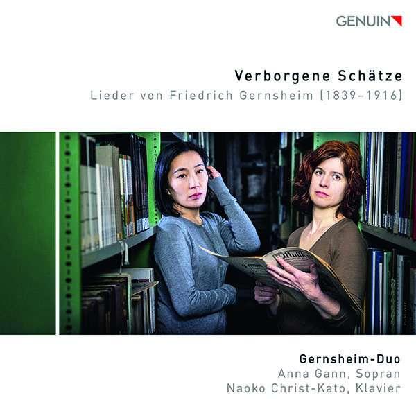 Details zu Verborgene Schätze - Lieder von Friedrich Gernsheim: Gernsheim-Duo