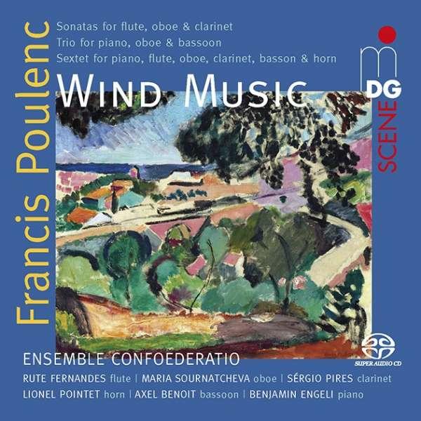 Details zu Francis Poulenc: Wind Music: Ensemble Confoederatio
