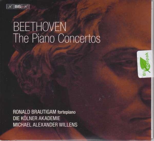 Details zu Beethoven: The Piano Concertos: Ronald Brautigam, Die Kölner Akademie, Michael Alexander Willens