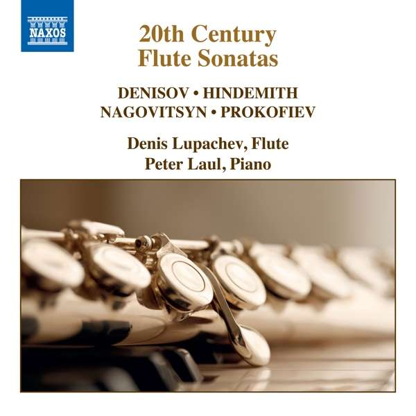 Details zu 20th Century Flute Sonatas: Denis Lupachev, Peter Laul