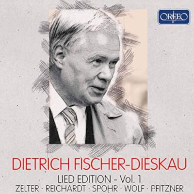 Details zu Dietrich Fischer-Dieskau: Lied Edition Vol.1: Ausgewählte Lieder