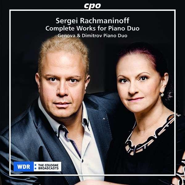 Details zu Sergei Rachmaninoff: Complete works for Piano Duo: Genova & Dimitrov Piano Duo