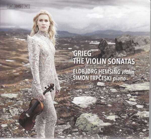 Details zu Edvard Grieg: The three sonatas for violin and piano: Eldbjorg Hemsing, Simon Trpceski