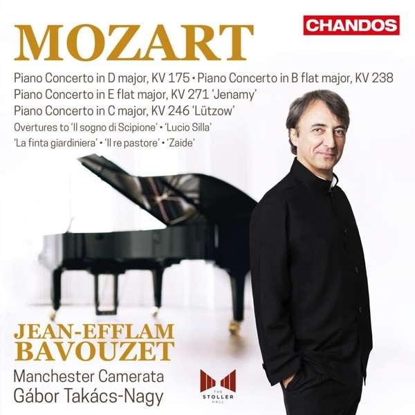 Details zu Mozart, Wolfgang Amadeus: Piano Concerti: Jean-Efflam Bavouzet, Manchester Camerata, Gábor Takács-Nagy