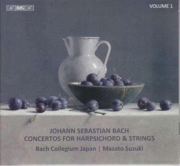 Details zu J.S.Bach: Concertos for Harpsichord & Strings: Bach Collegium Japan, Masato Suzuki