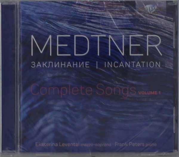 Details zu Nikolai Medtner: Complete Songs: Ekaterina Levental, Frank Peters