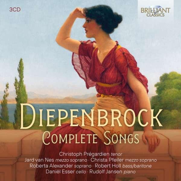 Details zu Diepenbrock: Complete Songs: Roberta Alexander, Christoph Prégardien, Robert Holl, Rudolf Jansen