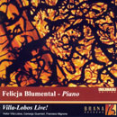 Details zu Villa-Lobos, Heitor: Piano Concerto No 5 (Live)