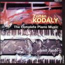 Kodály, Zoltán: Die Klaviermusik