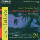 Bach, Johann Sebastian: Cantatas Vol. 24