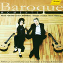 Baroque Moments: Music for two guitars by Händel, Vivaldi, Franck, Bach, Hassler