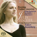 Julia Fischer: Russian Violin Concertos