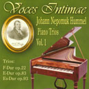Hummel, Johann Nepomuk: Piano Trios Vol.1