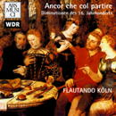 Diminutions of the 16th century: Ancor che col partire