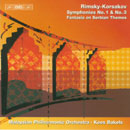 Rimsky-Korsakov, Nikolai: Symphonien Nrn. 1 und 3