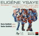 Ysaÿe, Eugène: Pièces pour violon et piano